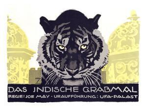 Das Indische Grabmal by Ludwig Hohlwein