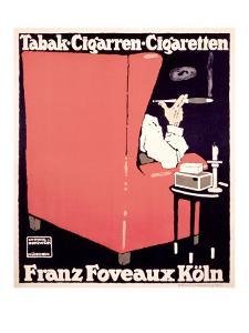 Franz Foveaux by Ludwig Hohlwein