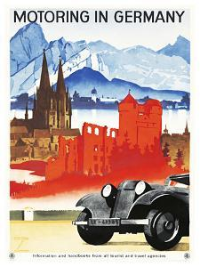 Motoring in Germany. by LUDWIG HOHLWEIN