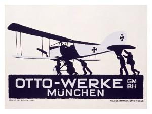 Otto-Werke, Munich by Ludwig Hohlwein