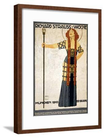 Richard Strauss-Woche Poster