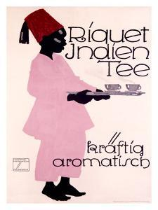 Riquet Indien Tee by Ludwig Hohlwein