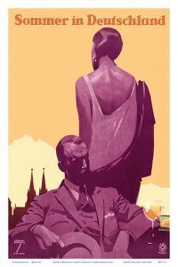 Sommer in Deutschland (Summer in Germany) - A Wonderful Holiday by Ludwig Hohlwein