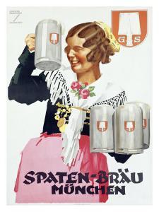 Spaten Brau by Ludwig Hohlwein