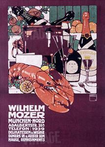 Wilhelm Mozer by Ludwig Hohlwein