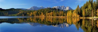 Austria, Kitzbuehel, Black Lake, Autumn,