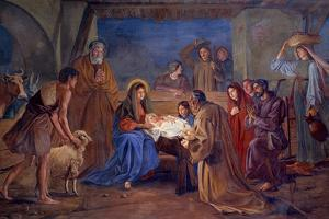 Nativity by Ludwig Mayer