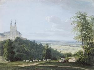 Banz Abbey from the South Side by Ludwig Neureuther