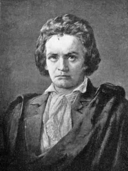 Ludwig van Beethoven, (1770-1827), German composer, 1909. Artist: Unknown-Unknown-Giclee Print
