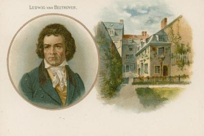 Ludwig Van Beethoven, German Composer and Pianist--Giclee Print
