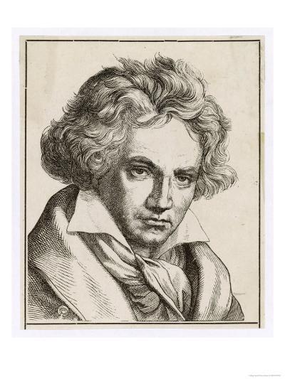 Ludwig Van Beethoven German Composer--Giclee Print