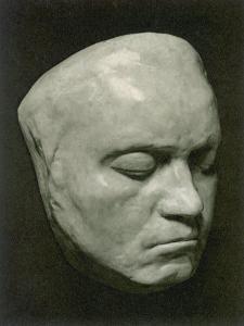 Ludwig Van Beethoven Mask Of The German Composer (42 Years)