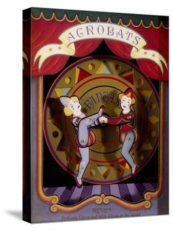 Music Box with Acrobats Moving to Moonlight Sonata