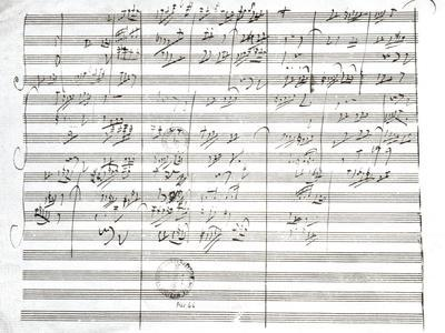 Score for the 3rd Movement of the 5th Symphony