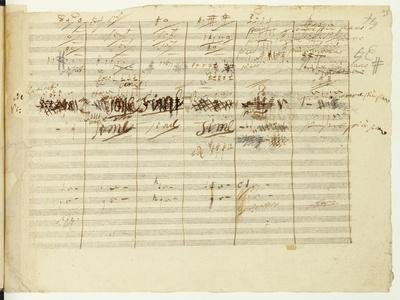 'Wellington's Victory, Op. 91', Page 36, Composed by Ludwig Van Beethoven (1770-1827)