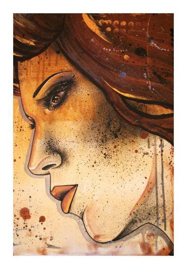 Lueur Orange-Vicky Filiault-Art Print