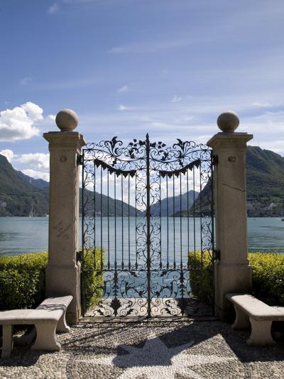 Lugano, Lake Lugano, Tessin Canton, Switzerland, Europe-Angelo Cavalli-Photographic Print