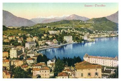 Lugano, Switzerland, 20th Century--Giclee Print