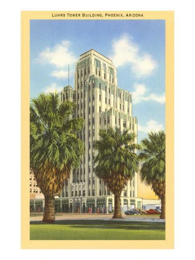 Luhrs Tower Building, Phoenix, Arizona--Art Print