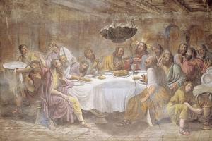 Last Supper by Luigi Ademollo