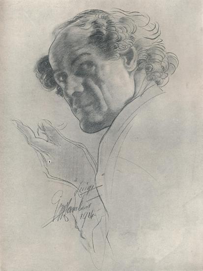 Luigi, C1914-George Washington Lambert-Giclee Print