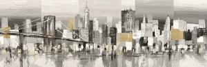 Manhattan & Brooklyn Bridge by Luigi Florio