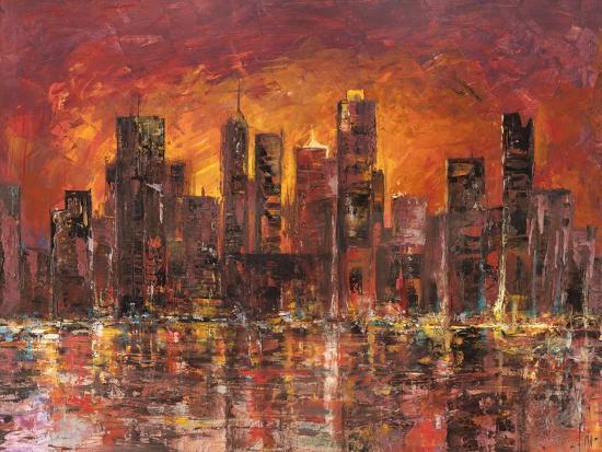 luigi-florio-sunset-in-new-york
