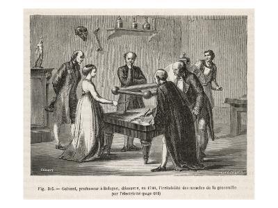 Luigi Galvani--Giclee Print