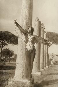 Dancer Interprets the Firebird in Ostia Antica by Luigi Leoni