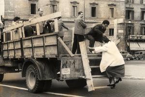 Improvised Public Transportation by Luigi Leoni
