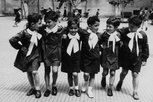 Portrait of Children: the First Class by Luigi Leoni