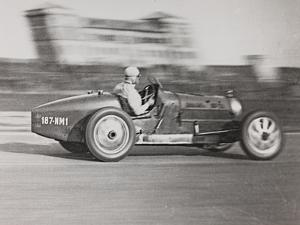 Racing Car During a Race by Luigi Leoni