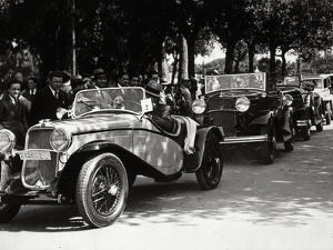 Rally of Vintage Cars by Luigi Leoni