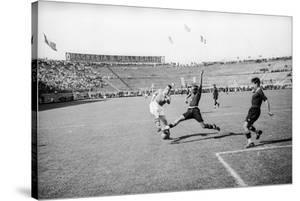Soccer World Cup 1934: Match at the National Pnf (National Fascist Party) in Rome by Luigi Leoni