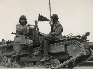 Tank Corps of the Italian Army by Luigi Leoni