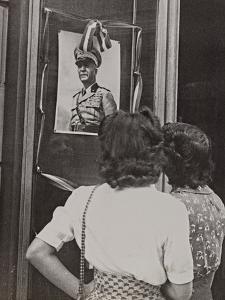 The Head of Government Pietro Badoglio in a Photographic Portrait by Luigi Leoni