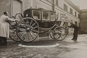 The Sedan Gala Golden of Vittorio Emanuele Ii, Built in 1878 by Luigi Leoni