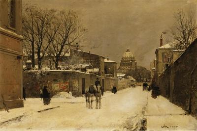 A Street Near Les Invalides, Paris