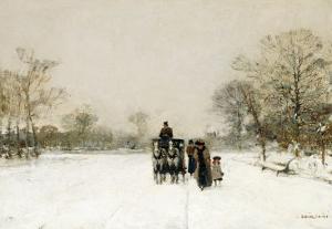In the Snow by Luigi Loir