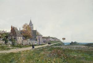 Les Mieilles a Saint Cast by Luigi Loir