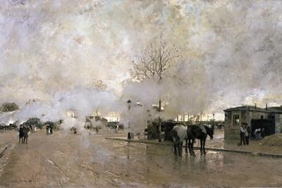 Smoke on the Paris Circuit Line, 1885