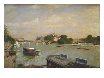 The Ile De La Cite, Paris