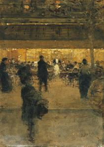 The Night Cafe by Luigi Loir