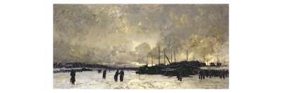 The Seine in December, 1879
