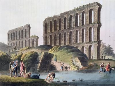 'Ruins of the Grand Aqueduct of Ancient Carthage', Tunisia, 1803