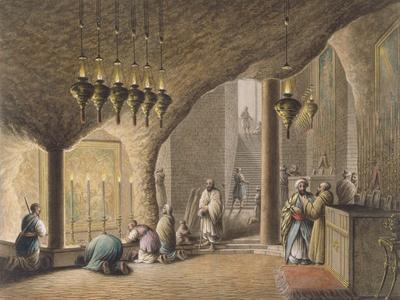 The Grotto of the Nativity, Bethlehem, 1802