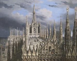 Roof of Milan Cathedral by Luigi Ossip Premazzi