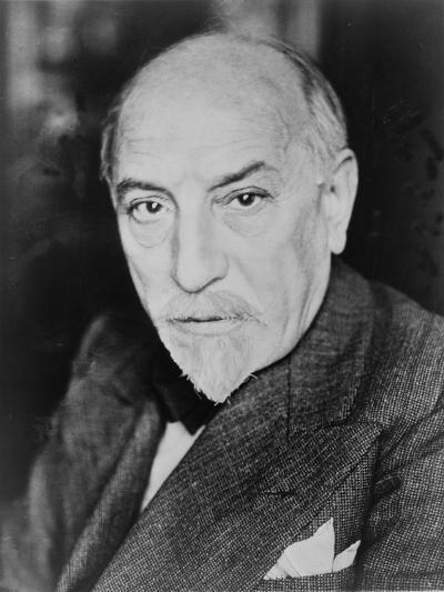 Luigi Pirandello Italian Playwright and Novelist, Won the 1934 Nobel Prize for Literature. 1934--Photo