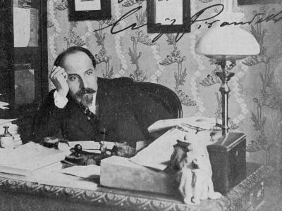 Luigi Pirandello Nobel--Photographic Print