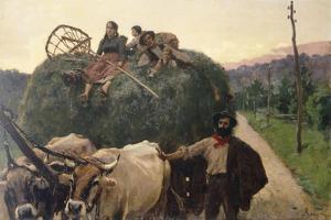 Hay, 1893 by Luigi Rossi